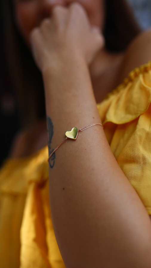 - Mini Kalp Bileklik
