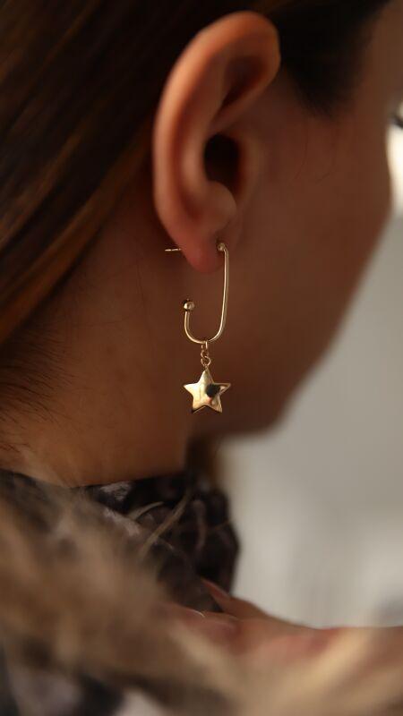 - Özel Yıldızlı Küpe